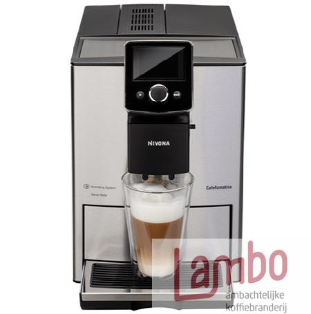 Lambo Koffiebranderij: Nivona 825 koffiemachine
